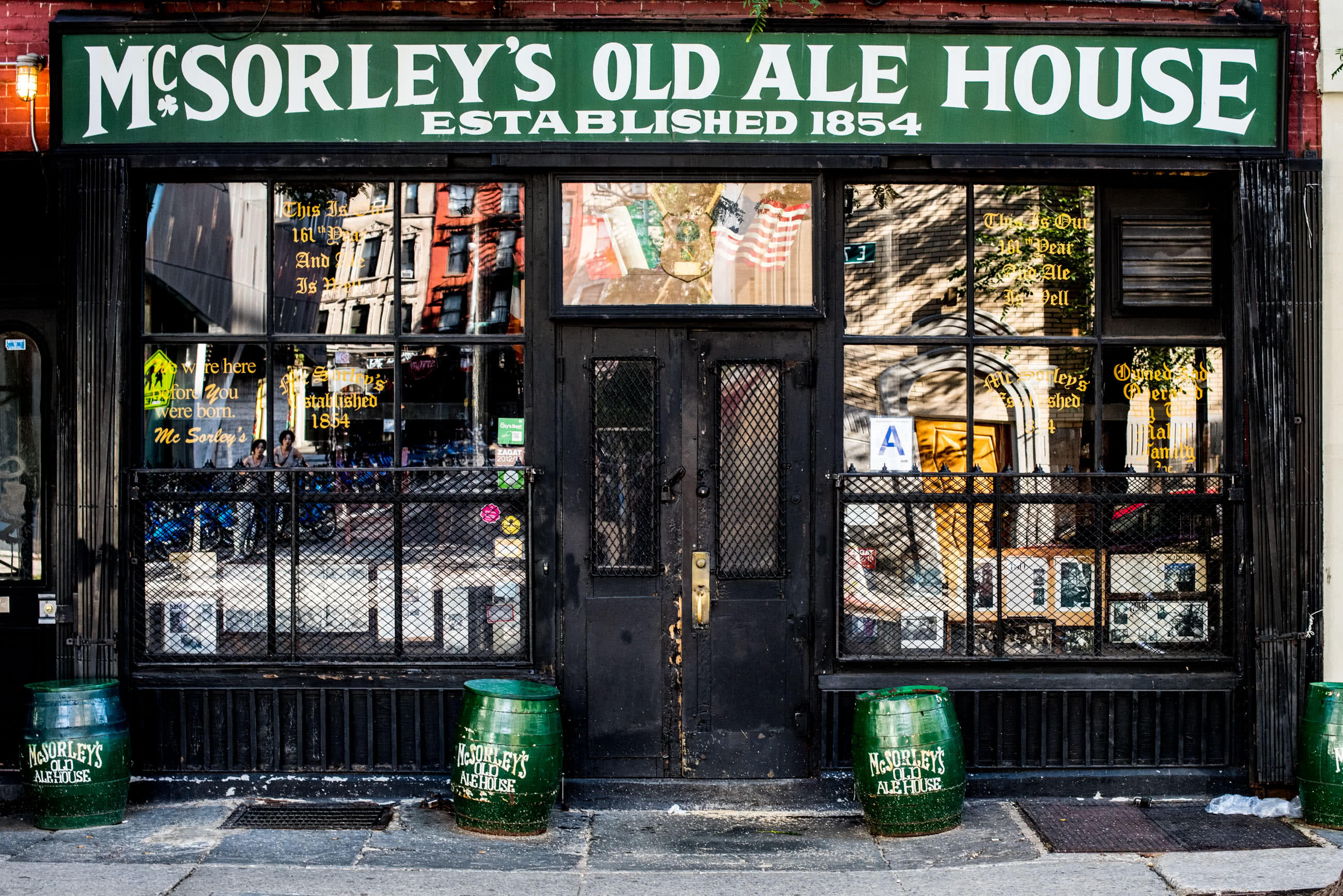 Home mcsorley 39 s old ale house for Classic house records